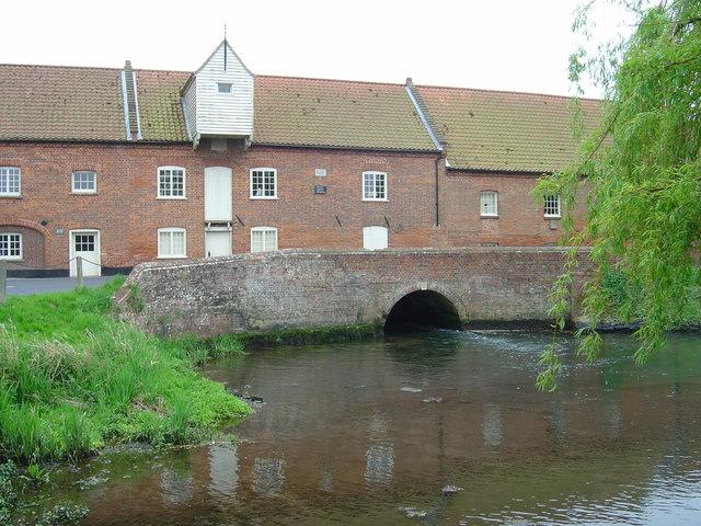 Burnham Overy Mill