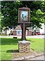 TL4070 : Village sign, Willingham, Cambs by Rodney Burton