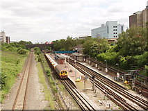 TQ2081 : Central Line track maintenance, North Acton by David Hawgood