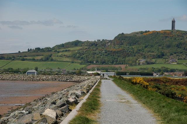 Sea defences, Newtownards (2)