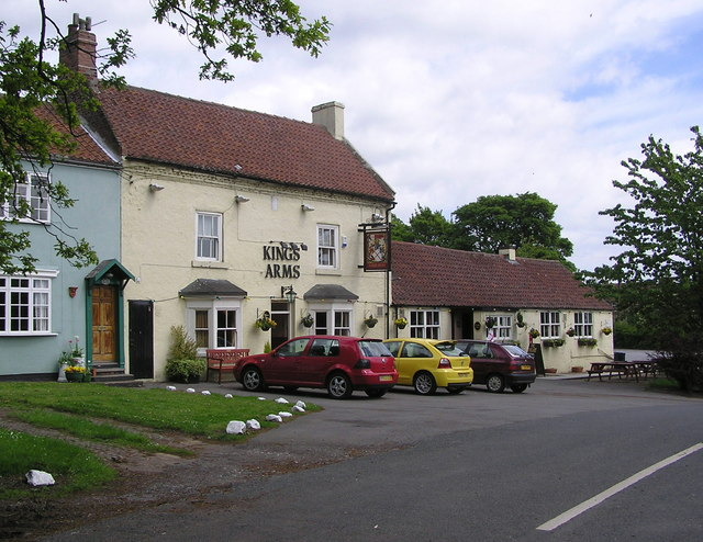 Kings Arms : Great Stainton.