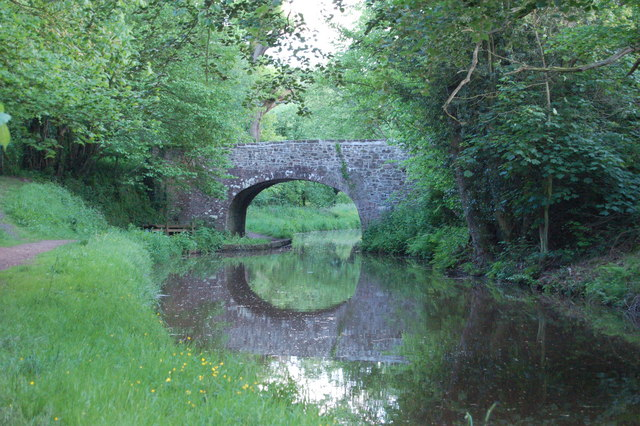 Bridge on the canal near Talybont-on-Usk