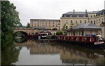 ST7565 : Kennet & Avon Canal, Bathwick by Pierre Terre