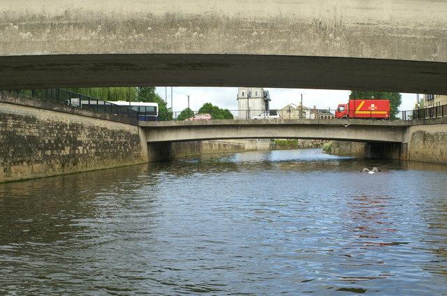 Churchill Road Bridge, River Avon, Bath
