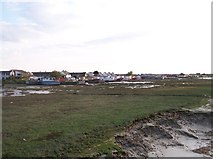 TQ2104 : Mudflats and House Boats, Shoreham Beach by Bob Embleton