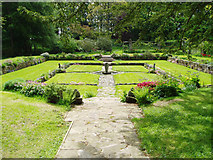 NT5933 : Bemersyde House Gardens by Kevin Rae