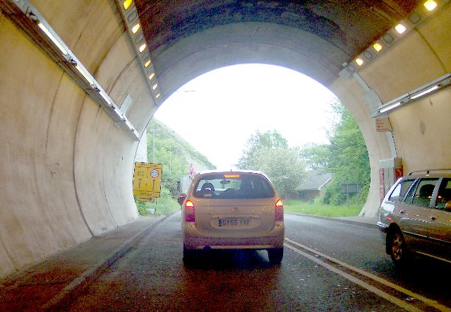 Exit of Cuilfail Tunnel