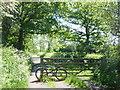SJ3477 : Access to Wirral Way at Heath Lane, Willaston by Sue Adair