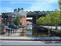 SJ8297 : Castlefield Basin, Manchester by Mike Harris