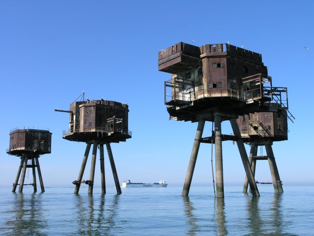 Red Sands Maunsell Sea Fort