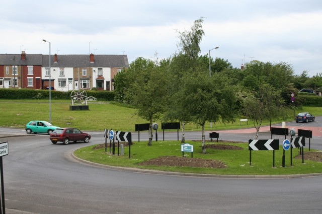 Roundabout, Beighton, Crystal Peaks