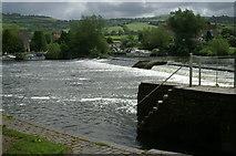 ST6967 : Weir on the Avon, Saltford Lock by Pierre Terre