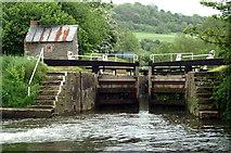 ST6968 : Below Swineford Lock by Pierre Terre