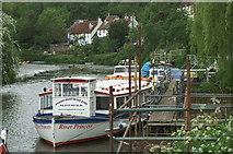 ST6470 : River Avon above Hanham Weir by Pierre Terre