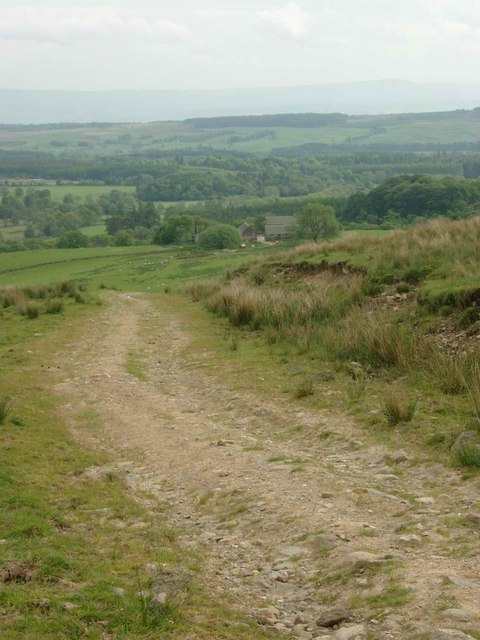 The track above West Bracklinn