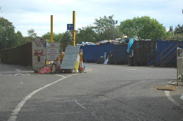 Nanhurst recycling centre.
