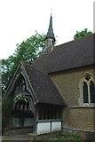 TQ0241 : St Andrew's church Grafham. by Andrya Prescott