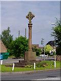 SJ6926 : War Memorial at Hinstock by Eirian Evans