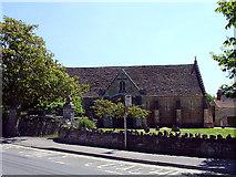 ST5038 : Glastonbury Abbey Barn by Linda Bailey