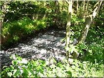 SE0619 : Cascade on the Black Brook, Barkisland by Humphrey Bolton