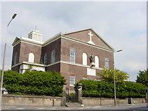 SJ3588 : St Patrick's Chapel, Park Place (front view) by Sue Adair