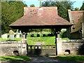 SE9645 : Lychgate, St. Mary's Parish Church South Dalton by Roger Gilbertson