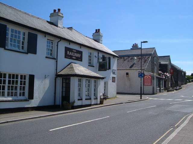 Two pubs in Princetown