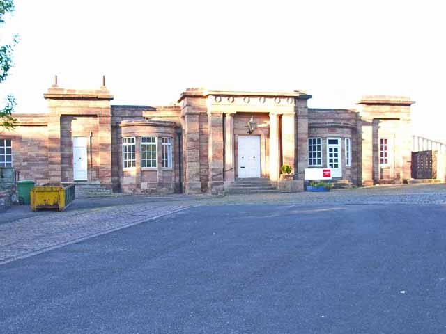 The old station, Ashby-de-la-Zouch