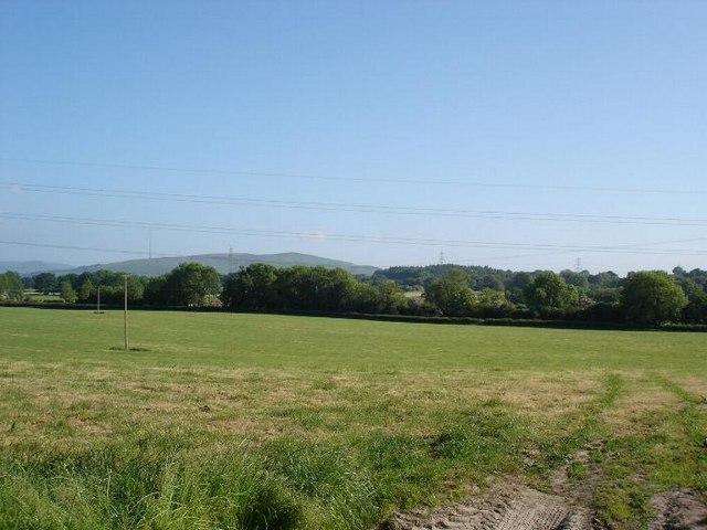 Farmland at Pen y Cefn