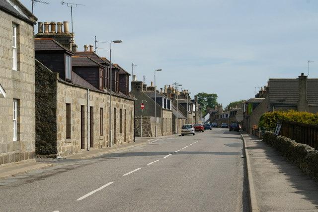 Water Street, Strichen