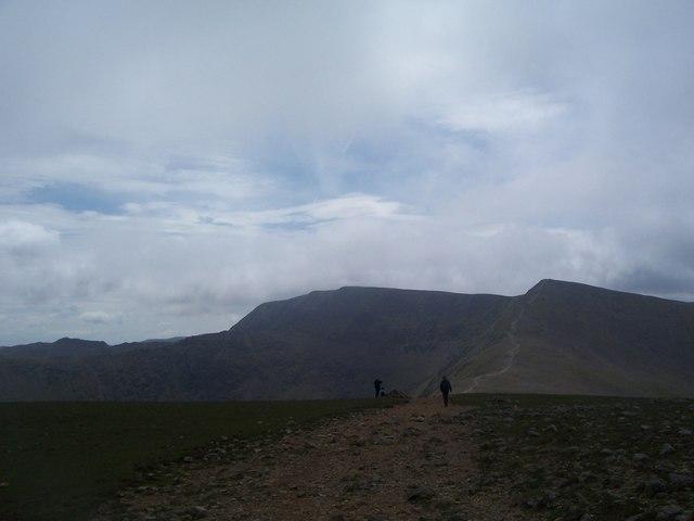 Ridge path on Whiteside