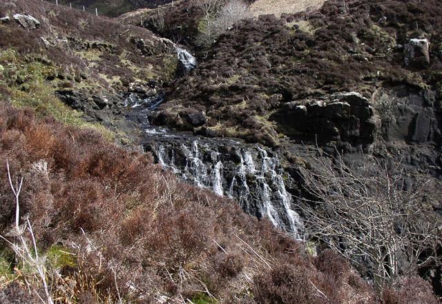 Waterfall on Huisgill Burn