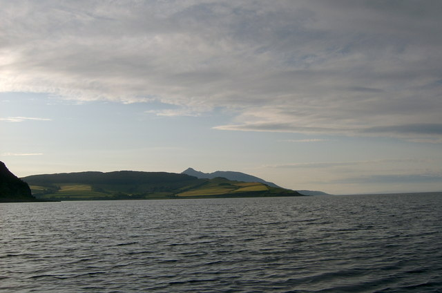 Firth of Clyde and East Coast of Holy Island, Arran