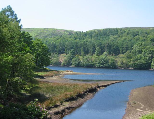 Derwent Reservoir by Abbey Brook