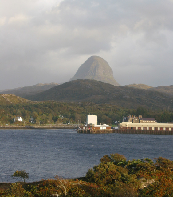 Suilven Caisteal Liath above Lochinver