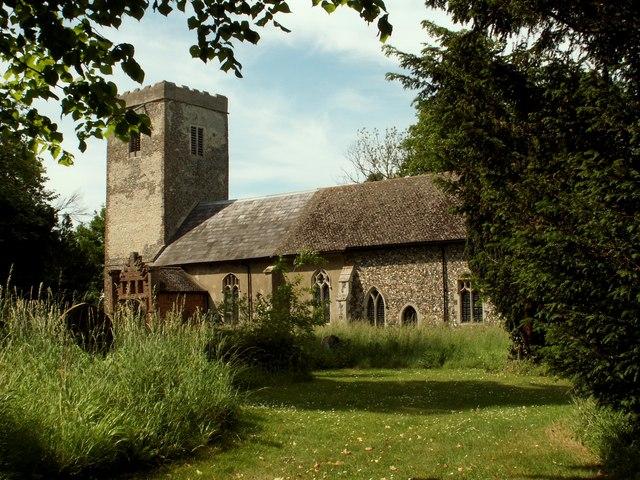 St. Andrew's church, Winston, Suffolk