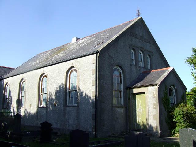 Derelict Chapel at Capel Gwyn