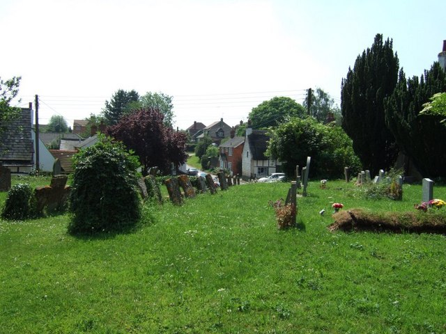 Akeley from the churchyard