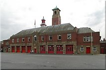 SD8912 : Rochdale fire station by Kevin Hale