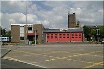 SE1039 : Bingley fire station by Kevin Hale