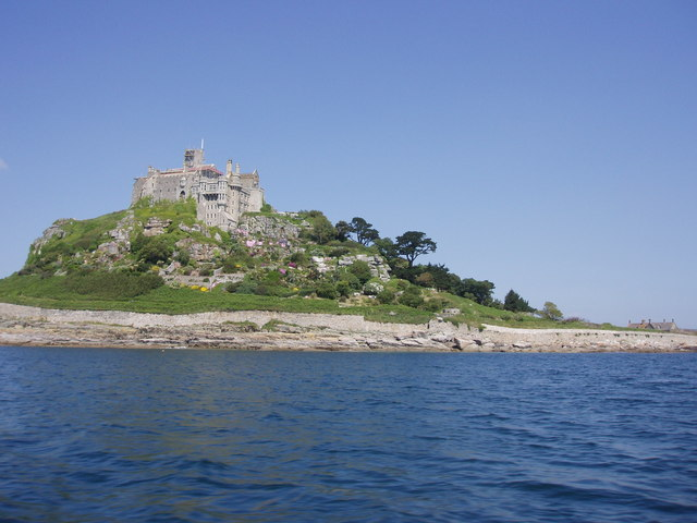 St Michael's Mount from the south side