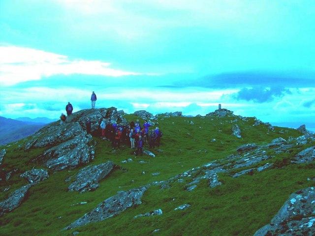 Sgurr an Airgid summit