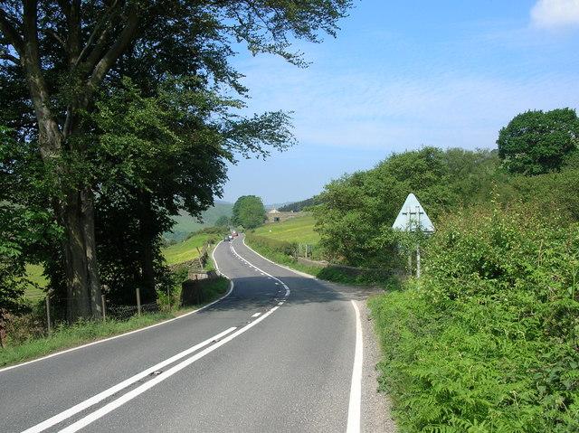 Snake Pass (A57) - Derbyshire