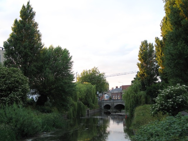 Balls Bridge viewed along the River Dodder