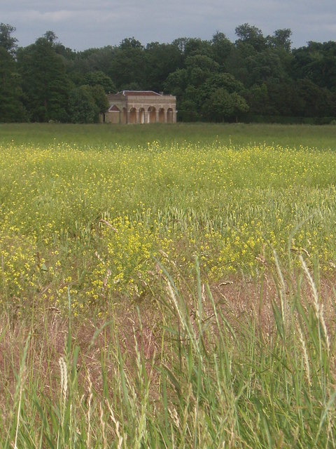 Folly at the back of Wrest House