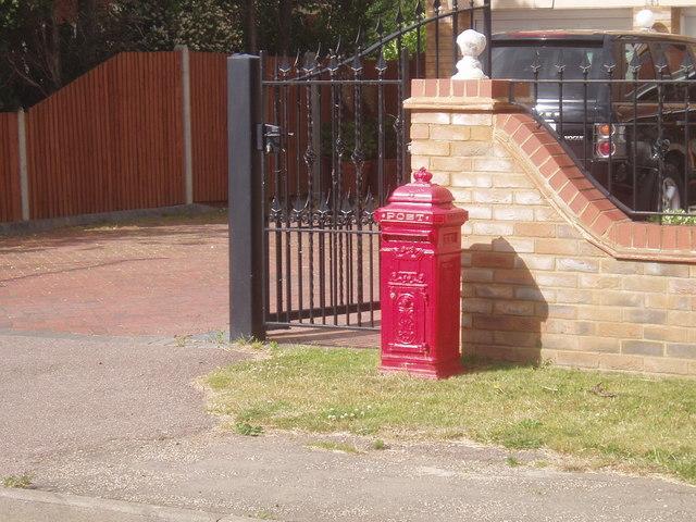 Interesting mailbox...