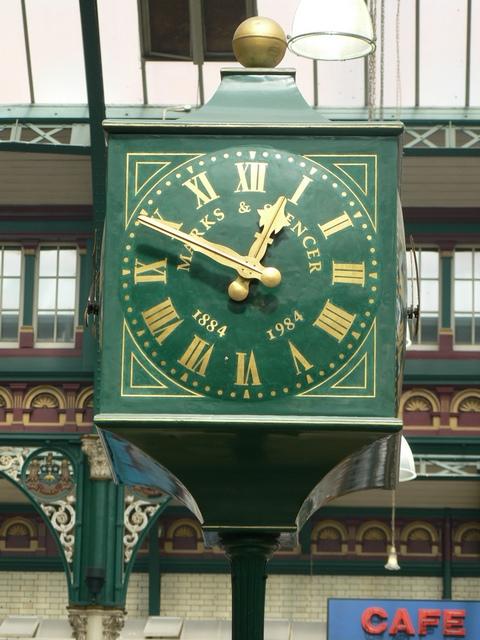 M&S Centenary Clock, Kirkgate Market, Leeds