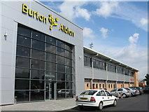 SK2524 : Burton Albion FC, Pirelli Stadium, Burton upon Trent, Staffordshire by Alan Slater