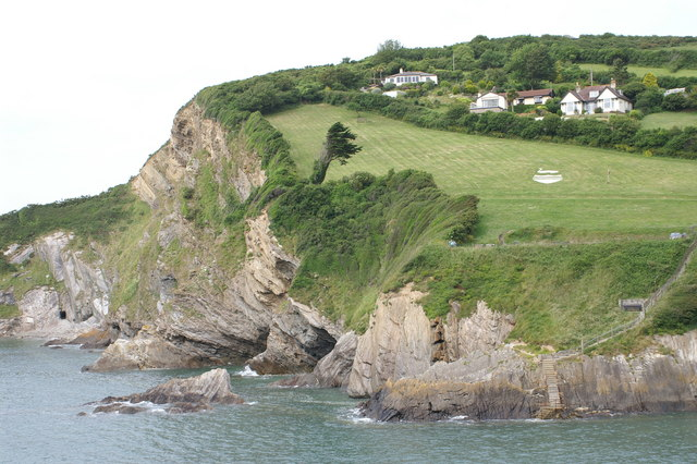 Cliffs at Combe Martin