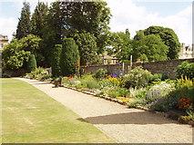 SP5105 : Master's Garden, Christ Church, Oxford by David Hawgood